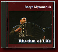 "Borys Myronchuk CD ""Rhythm of Life"""